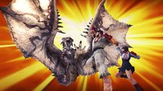 Capcom Reveals Ryu and Sakura From Street Fighter's in Monster Hunter World!