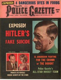 The National Police Gazette March 1961