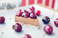 Čokoládovo - ovocný cheesecake | We Lift Together