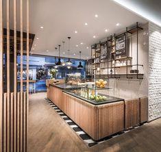Primo Cafe Bar Tübingen by DIA - Dittel Architekten | Café interiors #restaurantdesign