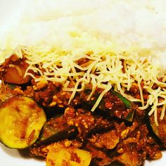 #curry #vegetarian #zucchini #egg #potato # okra #cheese