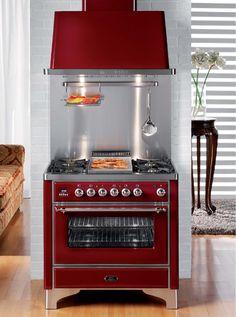 elektrischer ofen konvektion einbaubar nostalgie 900n mp ilve k che pinterest haus. Black Bedroom Furniture Sets. Home Design Ideas