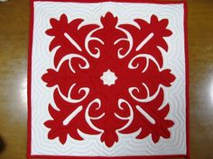 【 HANA O HAWAII】 The Birth of Hawaii  Motif : The Hawaiian Quilt -A Spiritual Experience- Design  :  Poakalani