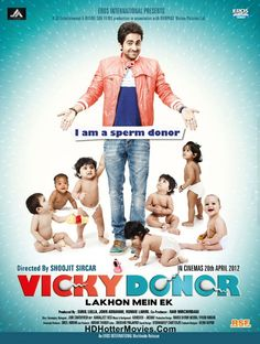 Vicky Donor Full Movie!! Bollywood Comedy and Romantic Movies! http://www.hdhottermovies.com/2015/06/vicky-donor-full-movie.html #Movies #bollywoodmovies