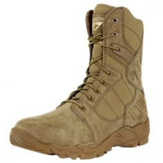 Condor Outdoor Richards Side Zipper Tactical Boot ( COYOTE BROWN / SIZE 7-13 )