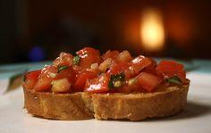 The 99 Cent Chef Tomato Basil Bruschetta