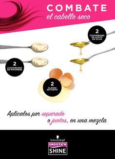 ¡Olvídate del cabello seco! Sólo necesitas estos tres ingredientes para que brille de nuevo.