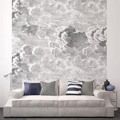 """panneau mural """"Nuvole"""" de Fornasetti"""