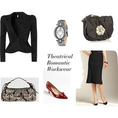 """Theatrical Romantic Workwear"" by cultivatingstyle on Polyvore"