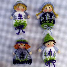 Flutterby Patch: Lavender Sachet Dolls