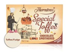 Special - Smothered Toffee and chocolate. Chocolate Dreams, Chocolate Toffee, I Love Chocolate, Thorntons Hamper, Thorntons Chocolate, Yummy Treats, Sweet Treats, Chocolate Hampers, Christmas Hamper
