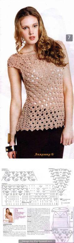 Crochet Lace Vest ~~ http://www.liveinternet.ru/users/lorik50/post330620617/