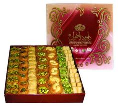 Daoud Deluxe – Talas A – – arabicsweets Turkish Sweets, Arabic Sweets, Arabic Food, Ramadan Desserts, Cookie Do, Shawarma, Cookies Policy, Turkish Recipes, Pistachio