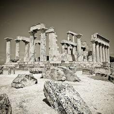 Aphaïa, Aegina, Grèce.