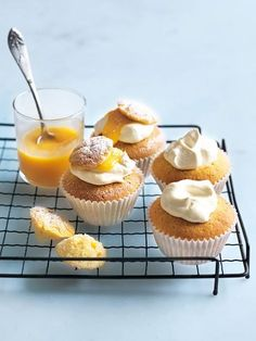Donna Hay kitchen tools, homewares, books and baking mixes. Quick and easy dinner or decadent dessert - recipes for any occasion. Lemon Dessert Recipes, Cupcake Recipes, Sweet Recipes, Baking Recipes, Lemon Curd Dessert, Lemon Curd Recipe, Healthy Lemon Recipes, Lentil Recipes, Broccoli Recipes