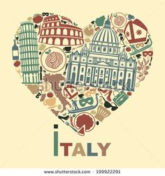 Vector Image Icons stock photos and royalty-free images, vectors and illustrations Italy Illustration, Cute Illustration, Retro, Art Sketchbook, Vintage Travel, Travel Posters, Illustrations, Royalty Free Images, Animation