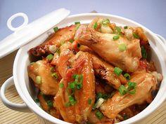 polynesian glazed wings recipe