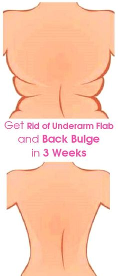 Women's Health, Fitness, Diet and Weight Lose: 4 Quick Exercises to Get Rid of Underarm Flab and Back Bulge in 3 Weeks Fitness Workouts, Exercise Fitness, Fitness Motivation, Sport Fitness, Body Fitness, Health Fitness, Fitness Weightloss, Excercise, Shape Fitness