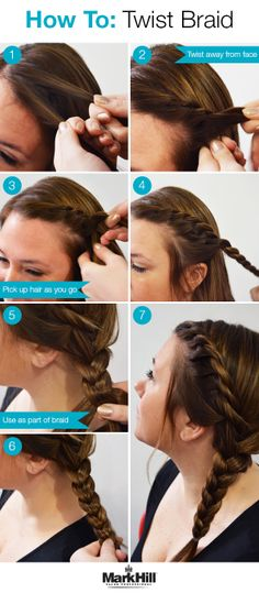 Try a subtle side twist braid for an understated but elegant look.