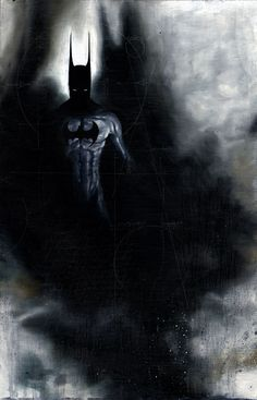 Batman(i think it's interesting how if the bat was ever out of weapons he could always just use his conveniently long bat-ears. just sayin'