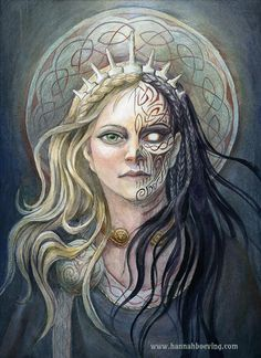 Hel: Goddess of the underworld