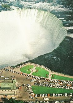 Horseshoe Falls, Niagara Falls, Ontario National Geographic | April 1963
