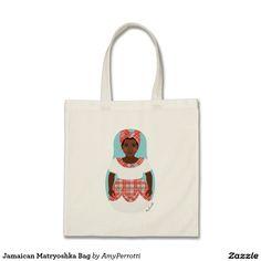 Jamaican Matryoshka Bag