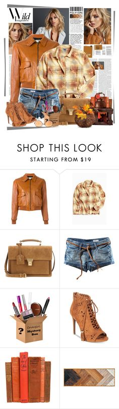 """""""Wild Imagination"""" by summersunshinesk7 ❤ liked on Polyvore featuring Yves Saint Laurent, Urban Outfitters, H&M, COVERGIRL, ZiGiny, Anja, Dot & Bo and Improvements"""
