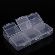 Clear Acrylic Cosmetic Jewellery Organizer Makeup Box Case