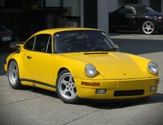 The eternally classic Yellowtail RUF Porsche, quite possibly the scariest car to drive on the planet.