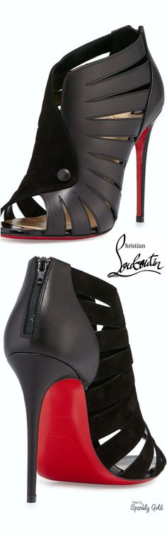 Black lace-up booties www.ScarlettAvery.com