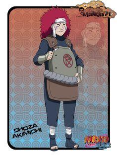 Choza from Naruto anime