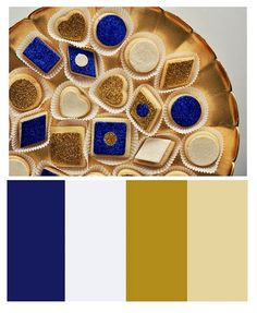 Dark blue and gold is my color scheme for this project. Gold Color Palettes, Red Colour Palette, Gold Color Scheme, Blue Color Schemes, Color Combos, Royal Colors, Royal Blue Color, Navy Blue Decor, Royal Blue And Gold