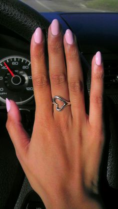 Baby Pink Shades for All Nail Shapes! Baby Pink Nails, Light Pink Nails, Pink Oval Nails, Pink Manicure, Manicure Tips, Almond Nails Designs, Nail Designs, Stiletto Nails, Coffin Nails