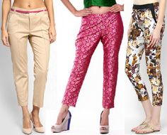 Narrow Palazzo pant cutting in hindi very very easy method(PART Types Of Trousers, Type Of Pants, Trousers Women, Pants For Women, Clothes For Women, Cigarette Pants Pakistani, Cigarette Trousers, T Shirt Tutorial, Salwar Pattern