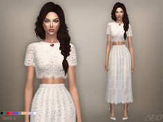 """beocreations: """" Lace midi dress 04 (S4) DOWNLOAD """""""