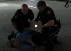 Epic: Homeless Man Gains Super Strength from This Cop's Taser