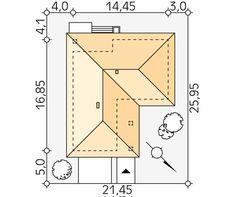 Kiwi projekt domu - Jesteśmy AUTOREM - DOMY w Stylu Kiwi, Floor Plans