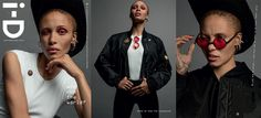 Adwoa Aboah by Inez & Vinoodh for i-D Magazine Pre Fall 2016 Cover