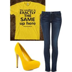 Lol....the shirt! ;)