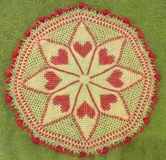 Beaded milk jar doilie Crochet Tablecloth, Crochet Doilies, Beaded Crochet, Beading, Milk, Patterns, Rugs, Knitting, Holiday Decor