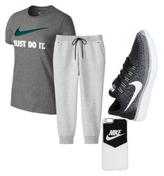 Untitled #163 by gmurielle on Polyvore featuring polyvore NIKE Uniqlo fashion style clothing
