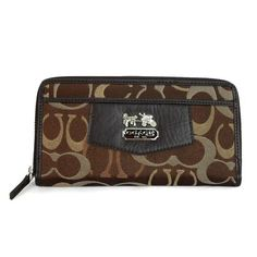 OMG! You can buy this Coach Logo Signature Large Coffee Wallets EEO for $36.99 now. It never happened.