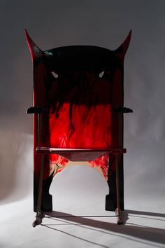 "Gaetano Pesce, ""Devil"", chair, 2016"