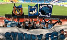 A handful of Sydney FC fans enjoy the 1-4 away win against Suwon Bluewings in the ACL. Photo via @tommysvr. 04.04.18