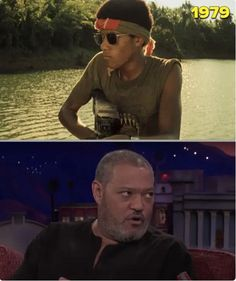 Laurence Fishburne played a soldier in Apocalypse Now, even though he was only 14 and lied about his age to get the part. However the film took so long to finish that Fishburne was seventeen by the time of it´s release. - 9GAG