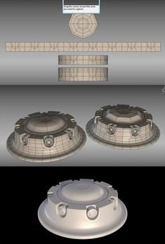 started with cylinder and then expanded the edges and layed out a strip of… Zbrush, Maya Modeling, Modeling Tips, 3ds Max Tutorials, Design Tutorials, 3d Design, Game Design, 3d Modellierung, Polygon Modeling