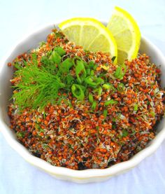 Red Quinoa Salad | Vegan/Vegetarian | Pinterest | Red Quinoa Salad ...