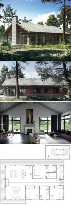 Small House Plan, Home Plan