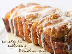 Pip & Ebby - Pumpkin pie pull-apartbread